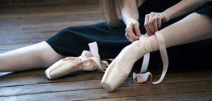 spitzen aantrekken ballerina