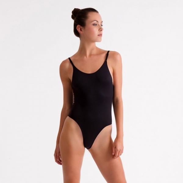 Silky Dance invisible body voor dames zwart