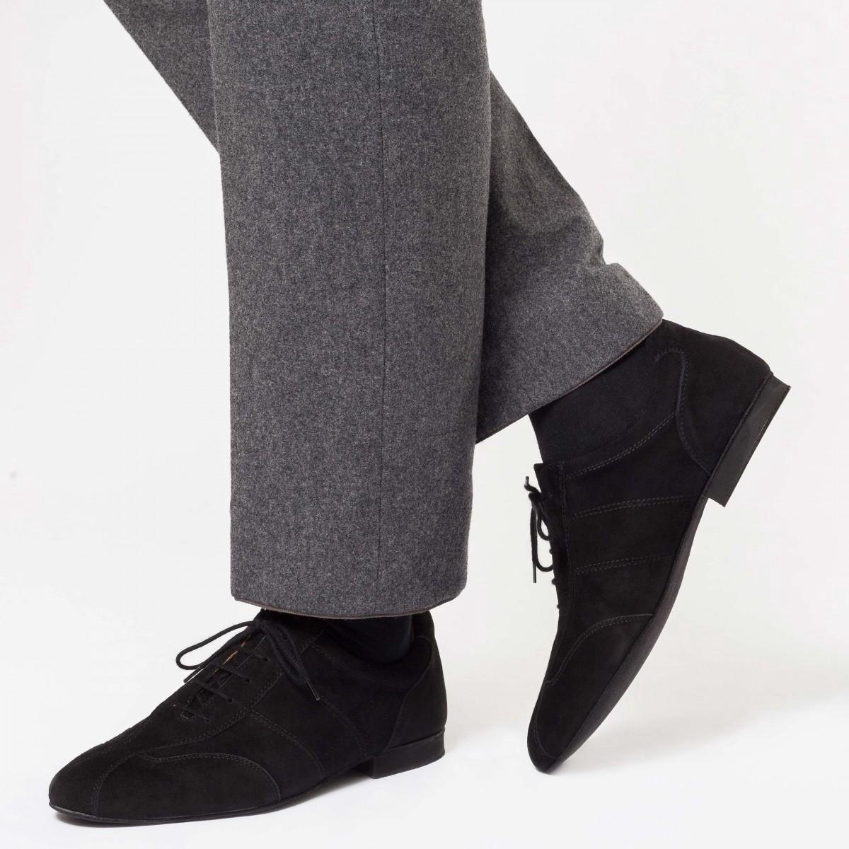 Werner Kern 28045 zwarte trainingsschoenen voor argentijnse tango heren