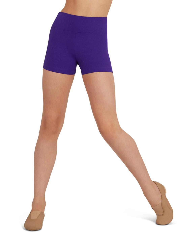 Capezio tb131 hoog getailleerde shorts