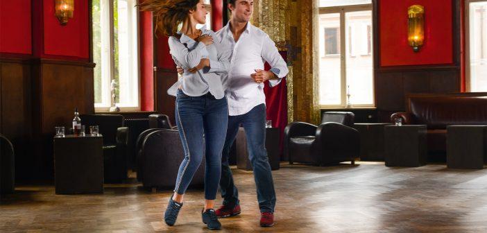 Trainingsschoenen voor Argentijnse Tango Anna Kern Suny danssneakers
