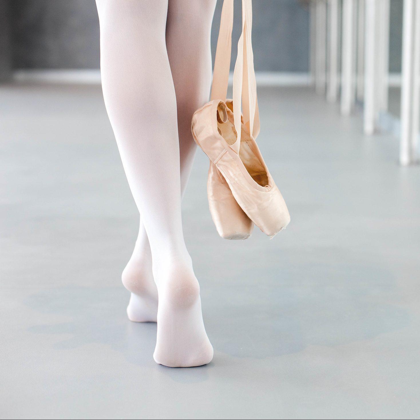 Capezio balletpanty met voet en spitzen