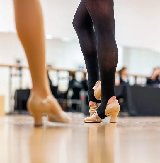 Stirrup panty latin dansen