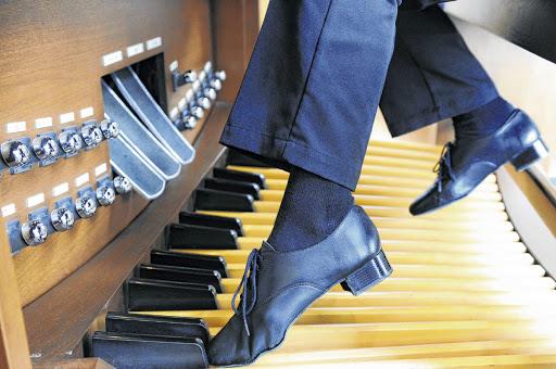 schoenen voor orgelspelen