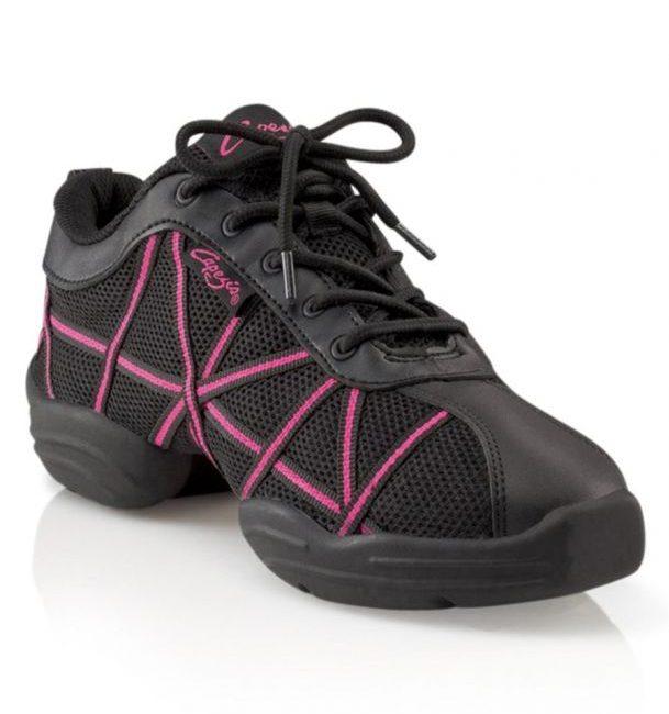 Capezio web danssneakers roze DS19 zumba schoenen
