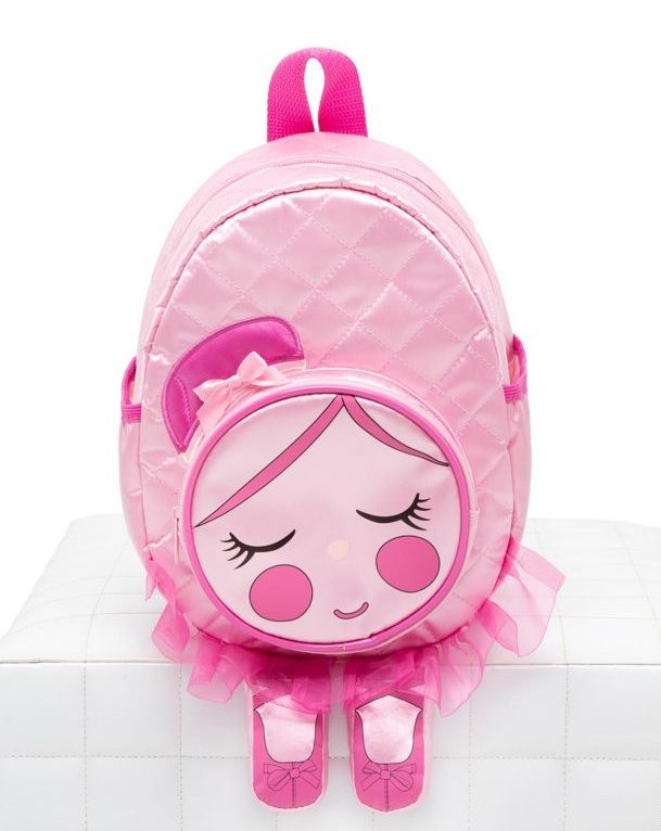 Capezio chloe roze rugzak voor ballerina's