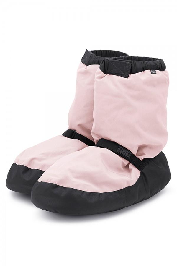 IM009K warm-up booties bloch roze