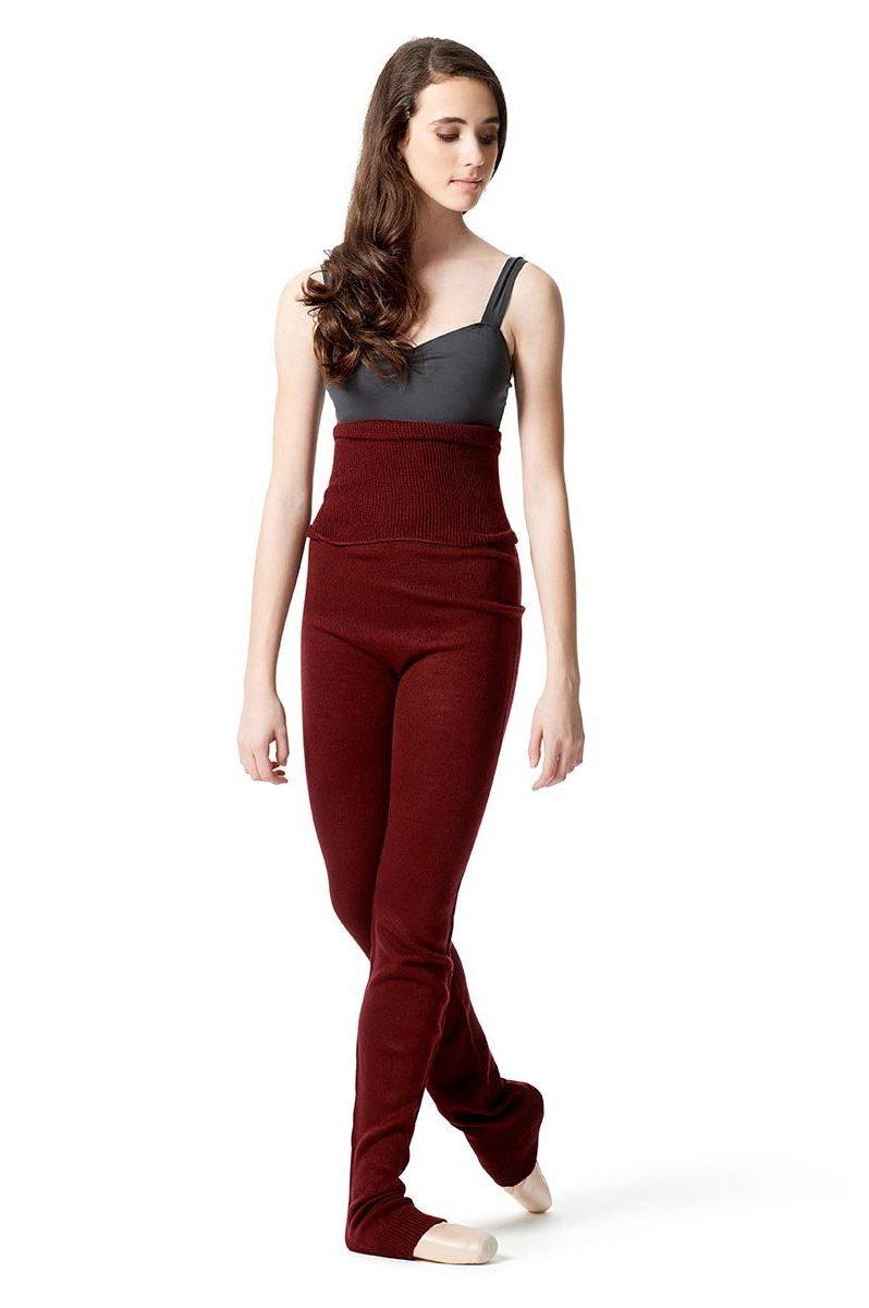 LUB604 lulli dancewear bordeaux dansbroek