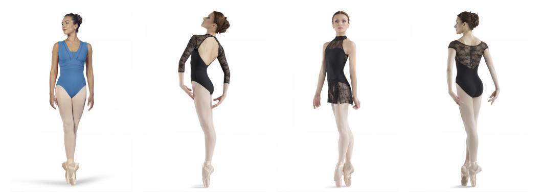 Exclusieve balletpakjes van BLOCH