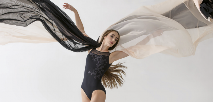 Ballet Rosa adele zwart balletpakje voor dames