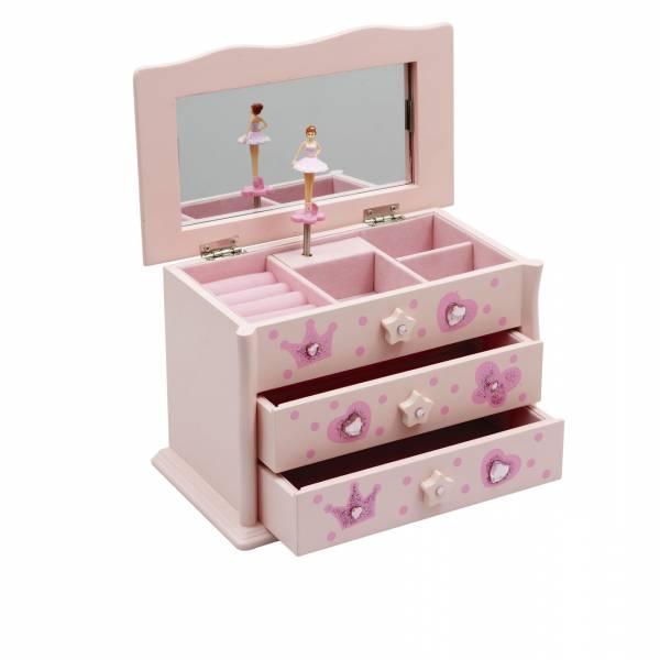 katz ballerina juwelendoosje roze JB08