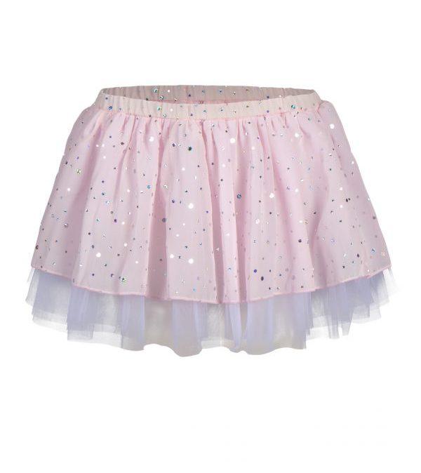12PK3279S papillon roze ballet tutu met pailletten