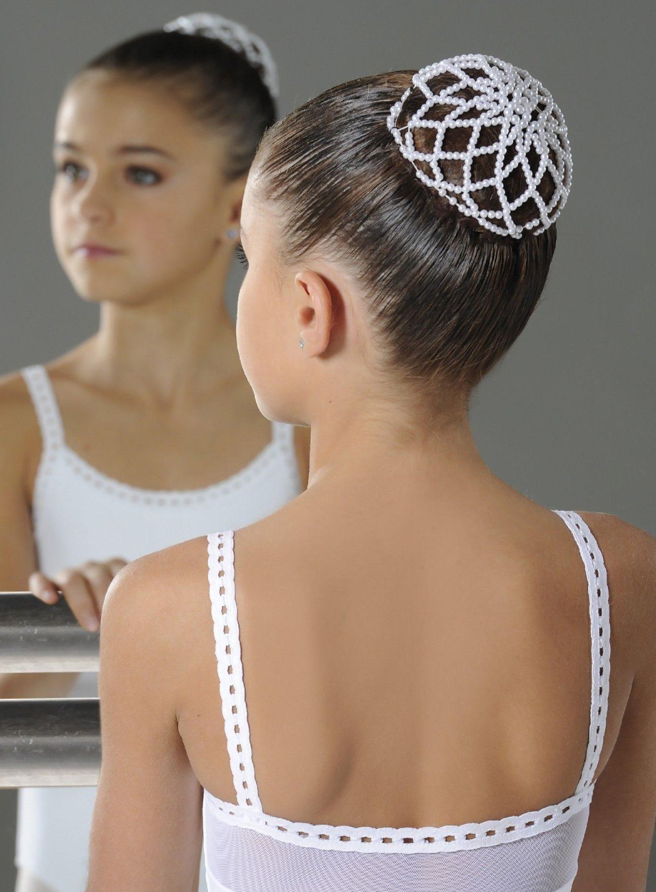 Wear Moi div-98 ballet knot haarnetje met parels