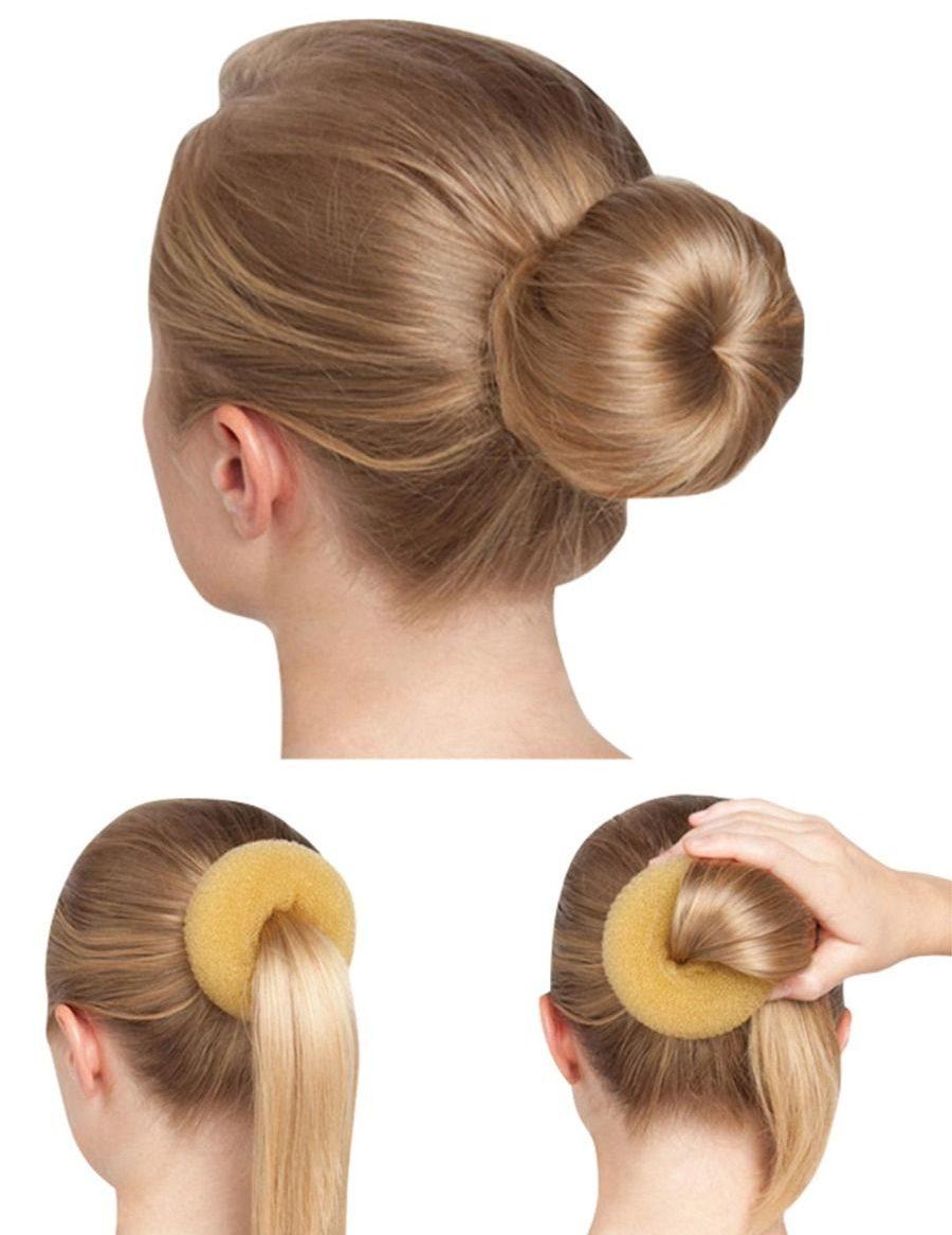 bunheads bun builder bh482 blond haaraccessoires