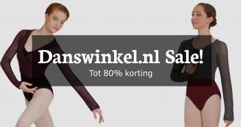 uitverkoop op dansartikelen bij danswinkel.nl