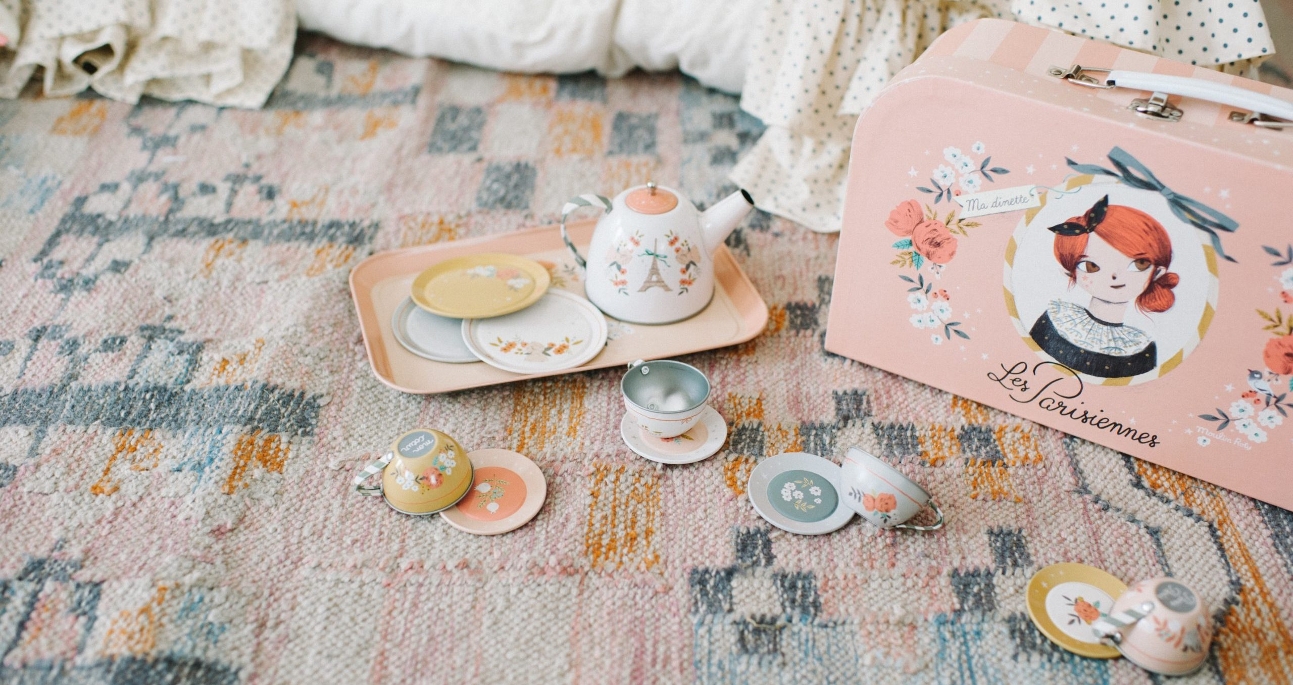 les parisiennes theeset voor volwassenen en kinderen