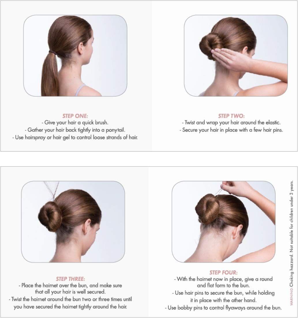 bloch haarset knot maken