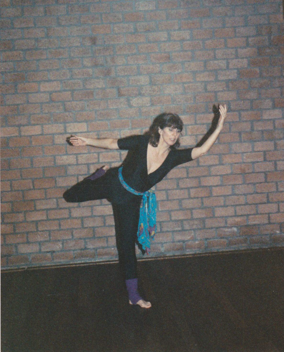 danslerares Erna Gianotten in 1985