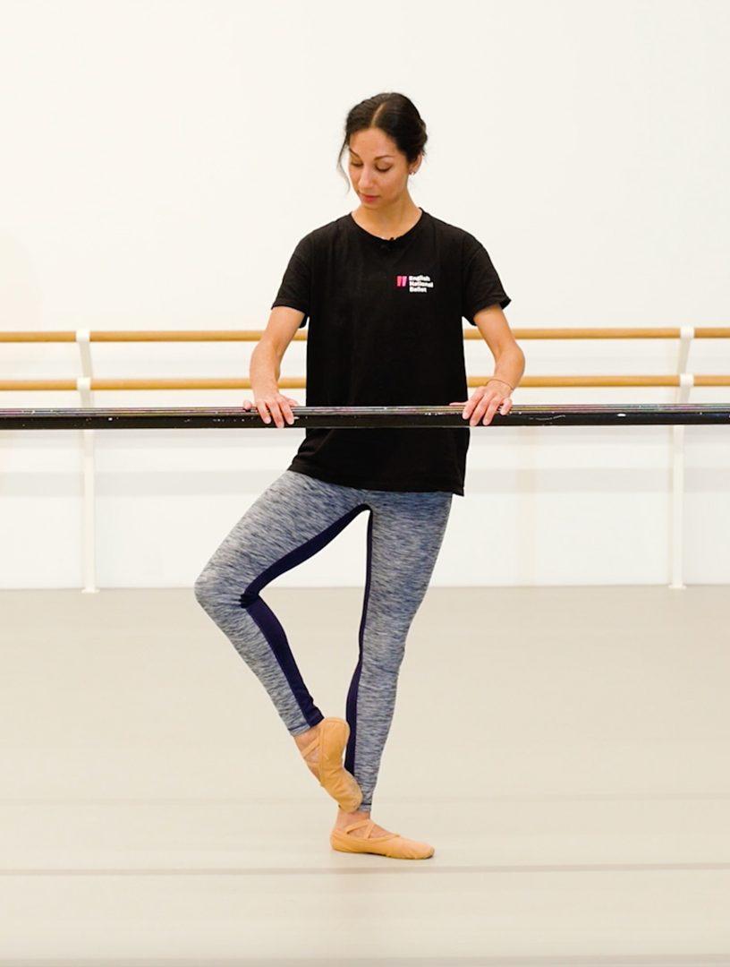 frappe ballet oefening