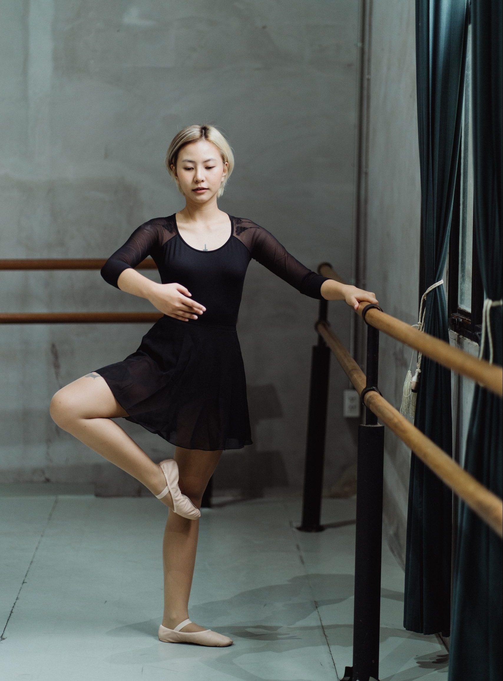 adagio balletles oefening eruit