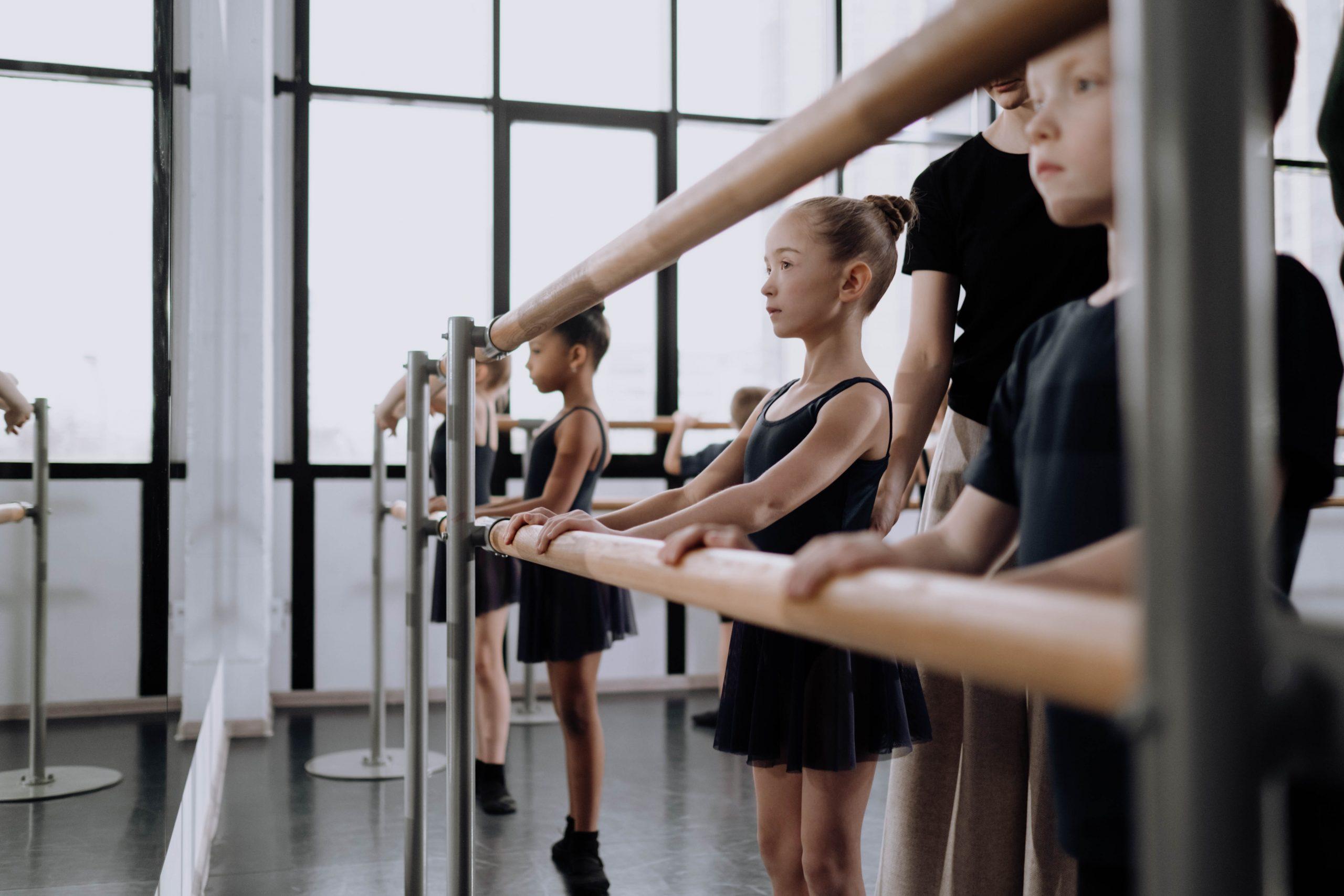 hoe ziet de balletles eruit voor kinderen
