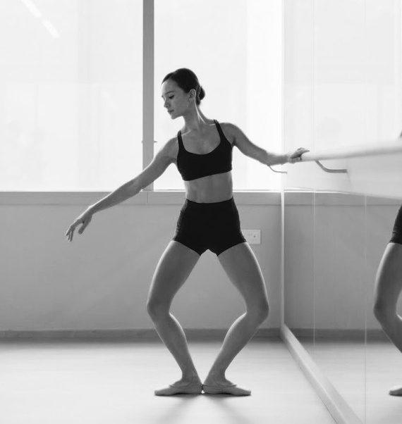 hoe ziet de balletles eruit plie