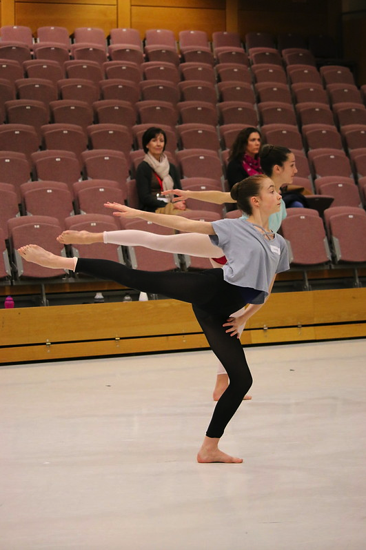 auditie dansopleiding modern ballet