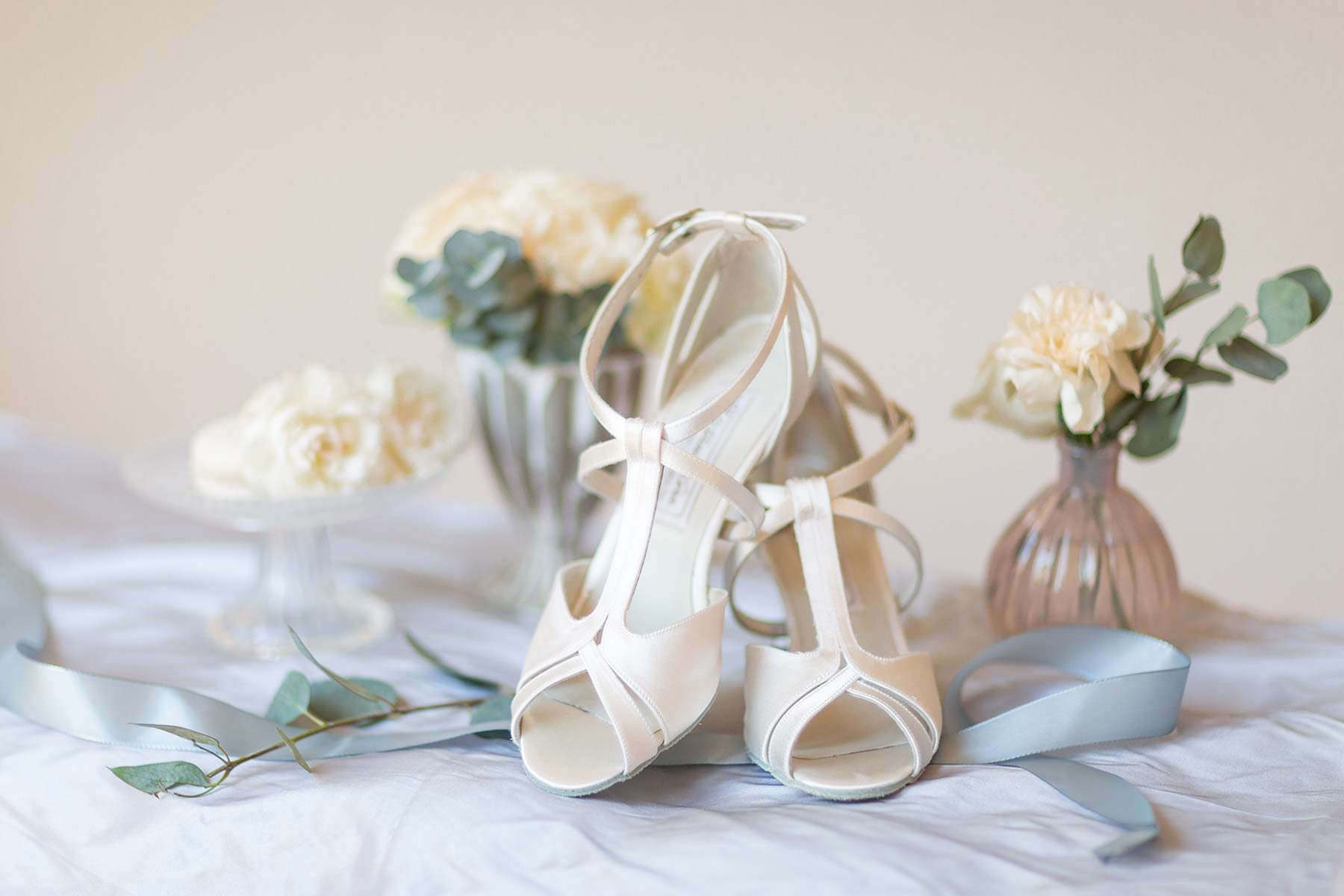 Werner kern francis bridal bruidsschoenen met lederen zool