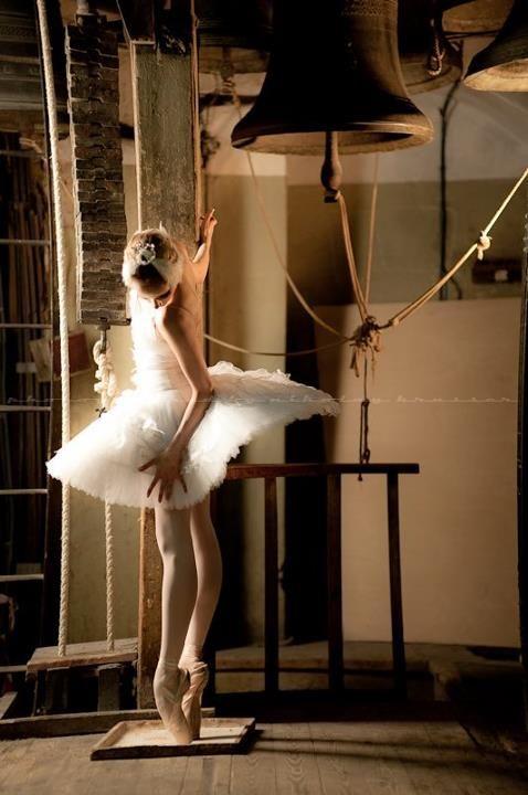 balletdansers met spitzen hars