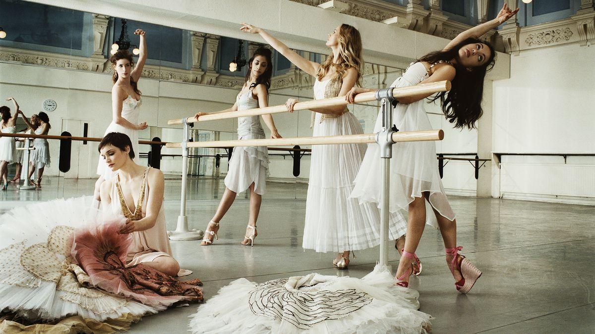 balletwereld en modewereld danskleding buiten dragen