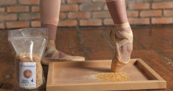 Wat is spitzen hars en waarvoor gebruiken balletdansers dit?