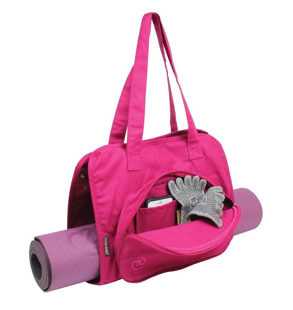 toesox roze yogatas voor moederdag