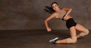 bloch sportkleding en kniebeschermers voor dansers