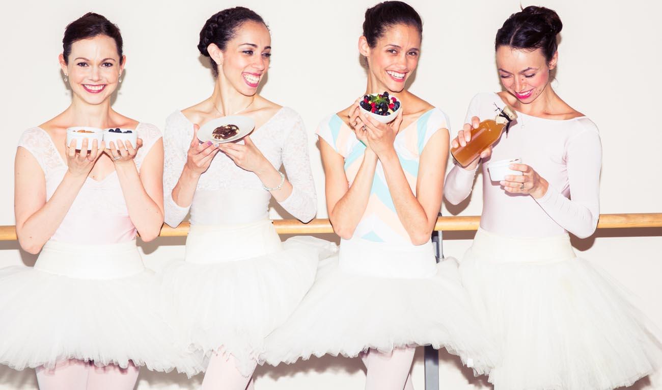ballerina's en voeding gezondheid