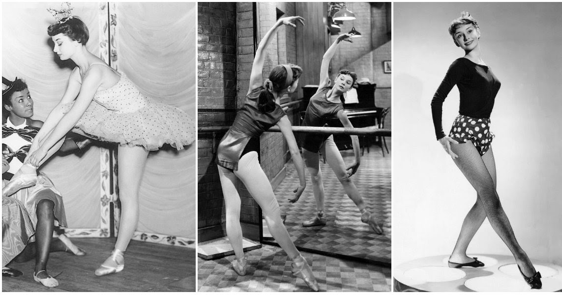 audrey hepburn balletdanseres en actrice