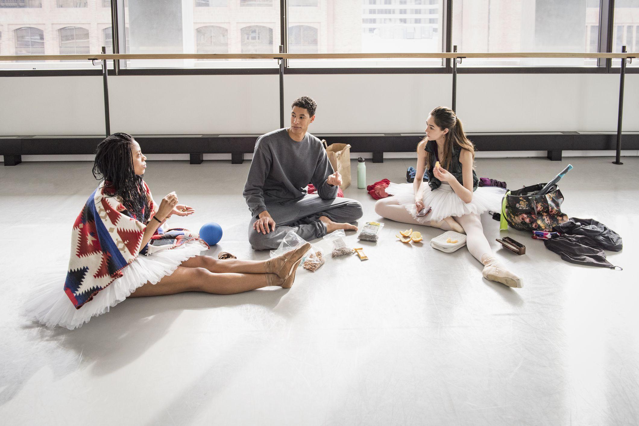 dansers en voeding levensstijl bewust