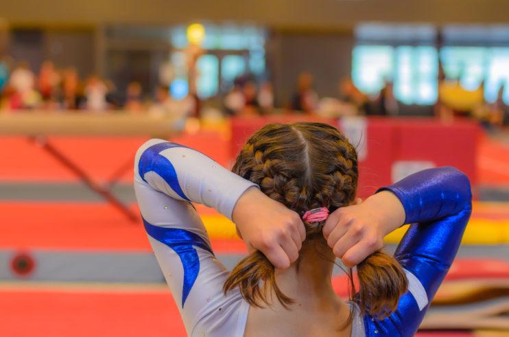 ritmisch gymnastiek haartrends