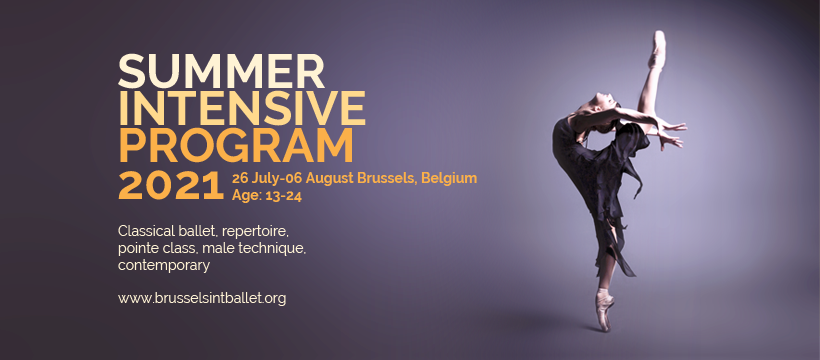 summer intensive program brussel
