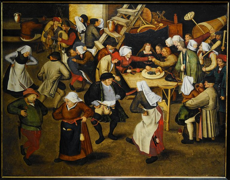 Pieter Brueghel the Younger (1616). The Wedding Dance in a Barn