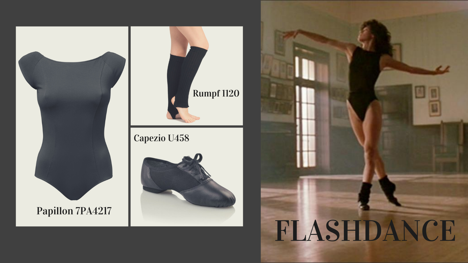 fashion dansfilm flashdance 1983