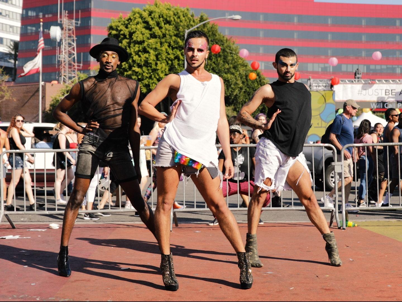yanis marshall pride high heel dans