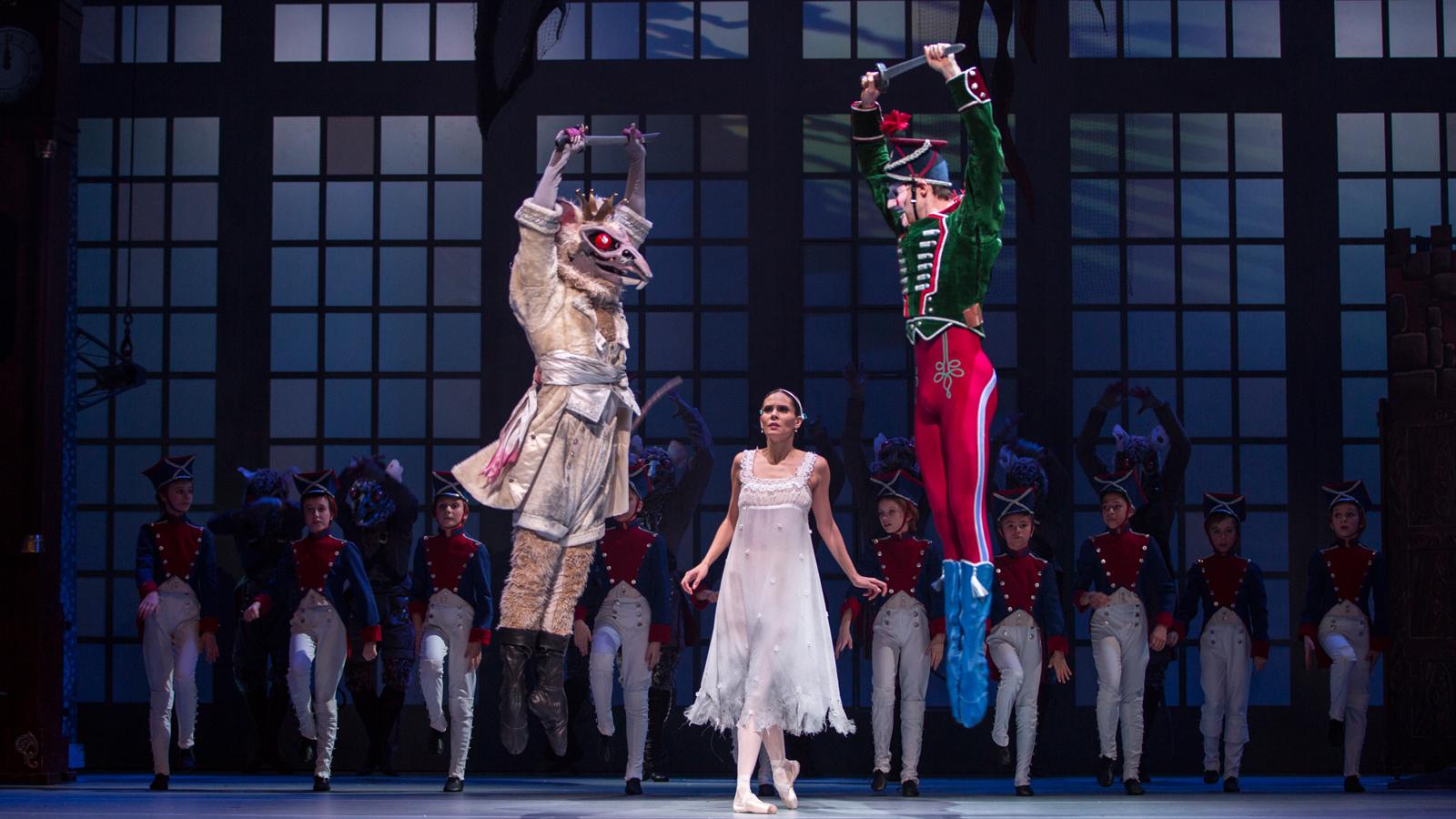 het nationale ballet Notenkraker en muizenkoning