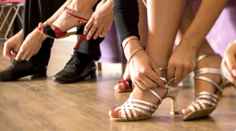 diamant dansschoenen salsa en latin